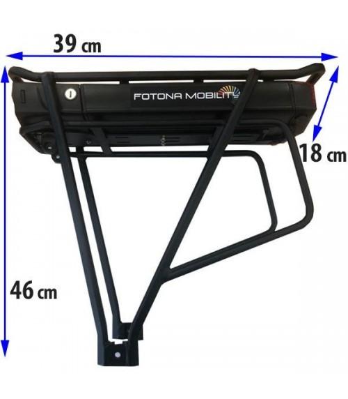 Batterie porte-bagages arriere Lithium-ion pour vélo electrique