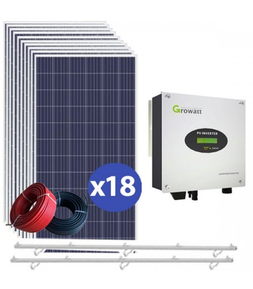 Kits solaires 6,12kW auto-consommation