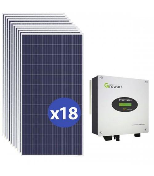 Kit Panello Solare Autoconsumo 5000W