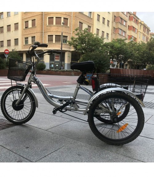 Electric tricycle conversion kit