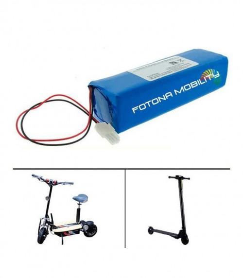 batteries au lithium-ion électrique-scooter