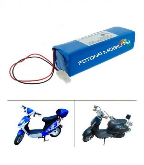 Batterie au lithium pour les motos électriques