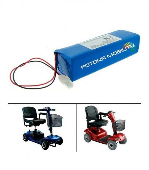 Batterie per veicoli a mobilità ridotta
