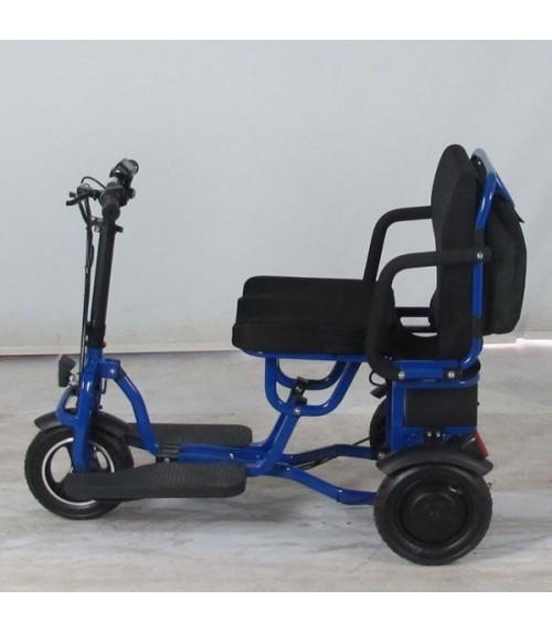 Scooter pieghevole LIGHTEST 350W blu