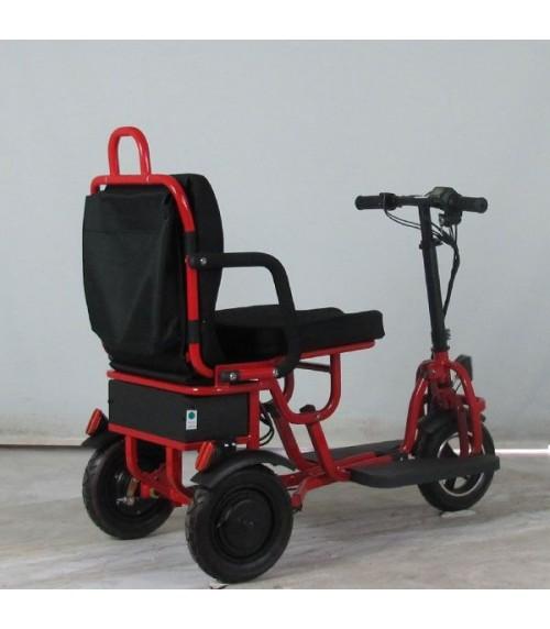 Scooter pieghevole LIGHTEST 350W rosso