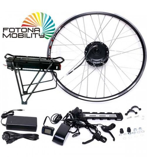 Conversion kit for ride bicycle with 250W motor