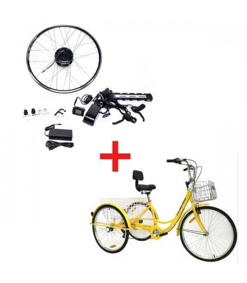 Umrüstsatz für Elektro-Dreirad