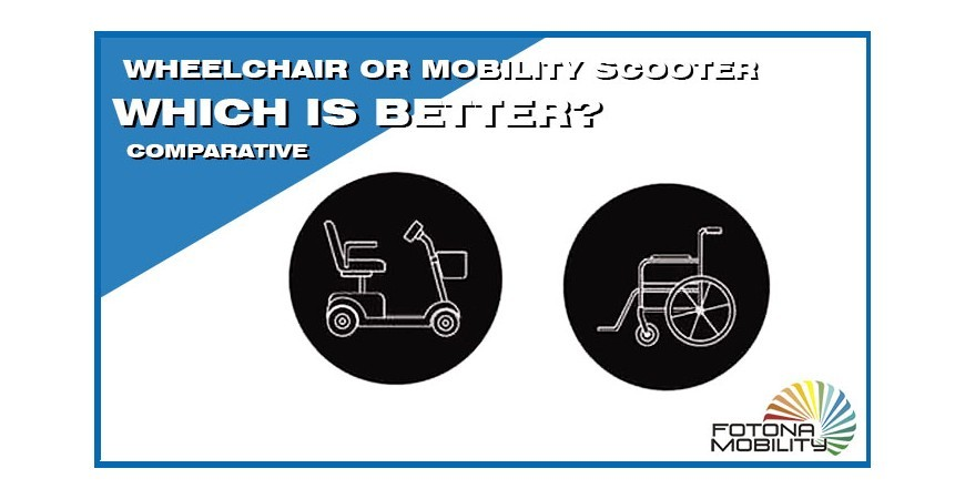 Wheelchair or Electric Mobility Scooter, Which is better?
