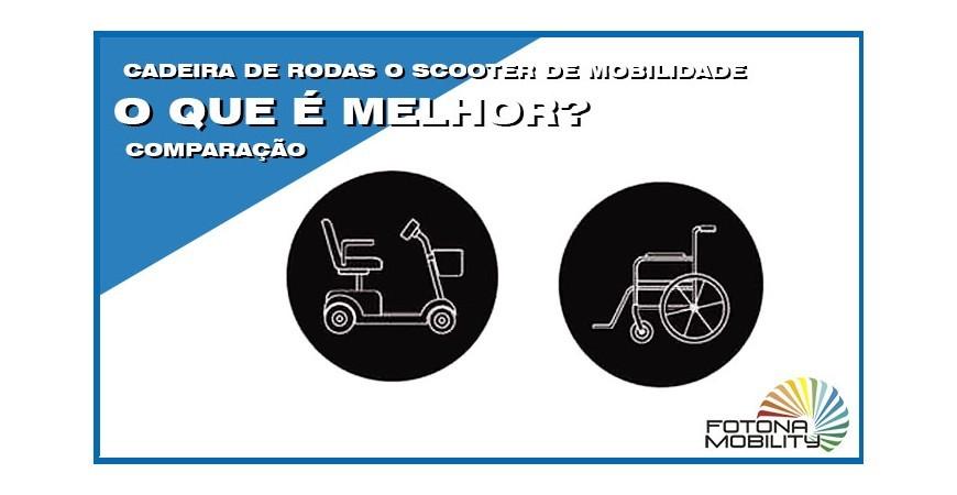 Divergências Entre Cadeira de Rodas VS Scooter Elétrica de Mobilidade