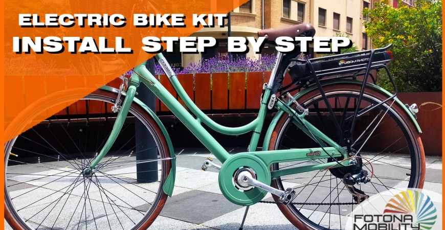 How to Install an Electric Bike Kit?