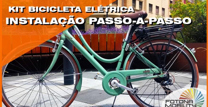 Como Montar um Kit de Bicicleta Elétrica