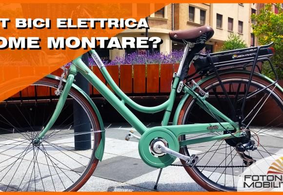 Come Assemblare un Kit per Bicicletta Elettrica