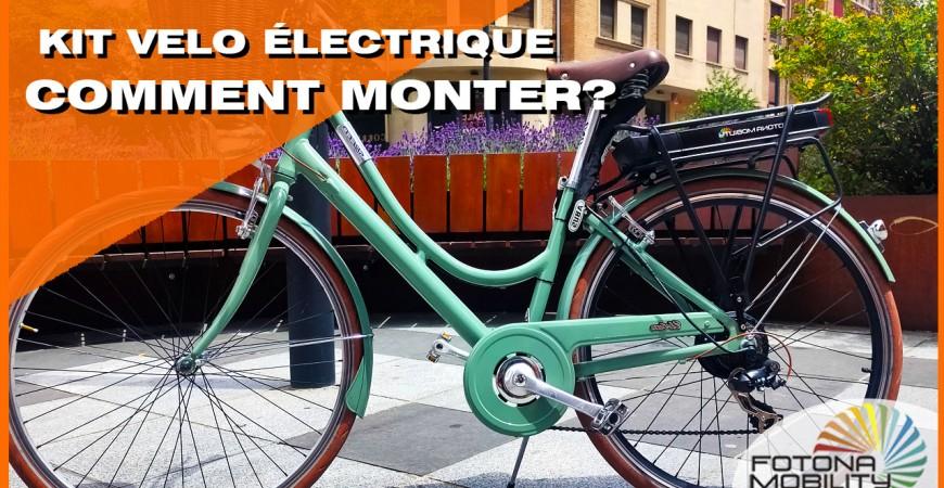 Comment assembler un kit de vélo électrique