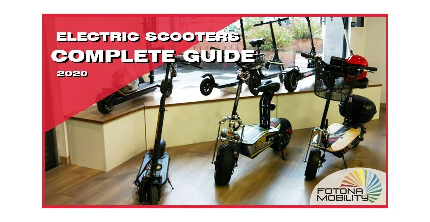 Electric Scooters Guide 2020