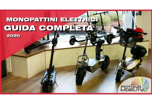 Guida agli Monopattini elettrici 2020