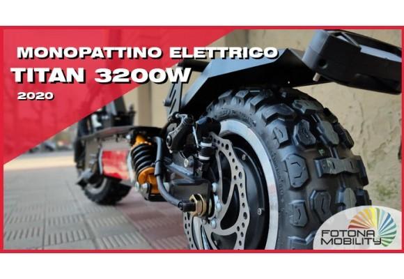 TITAN 3200W Il più potente monopattino elettrico.