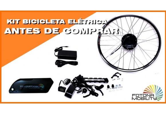 Coisas que deve saber antes de Comprar um Kit Elétrico para a sua Bicicleta.