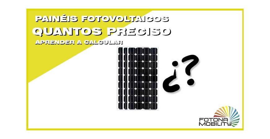 Quantos painéis fotovoltaicos para uma casa?