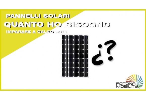 Quanti pannello solare per una casa?