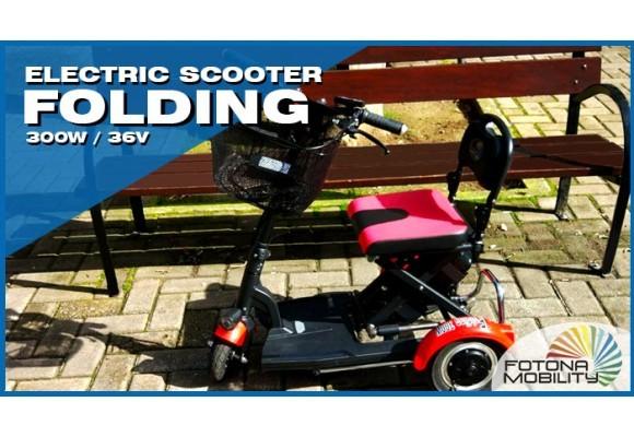 Ultra Lightweight Folding Scooter