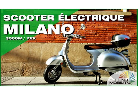 Scooter Électrique Classique de Ville