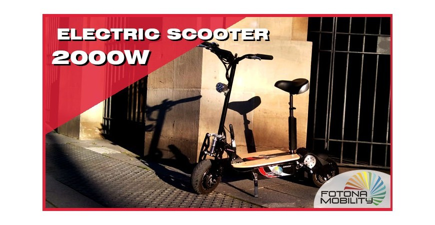 Electric Scooter for adults 2000W 60V | Video Review |