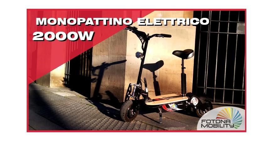 Monopattino Adulti Elettrico 2000W 60V | Video Review |
