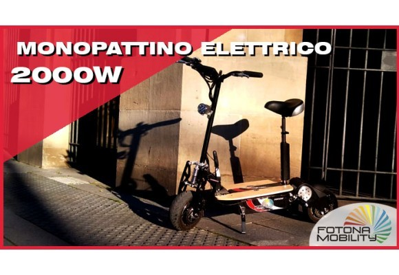 Monopattino Adulti Elettrico 2000W 60V | Video Review |