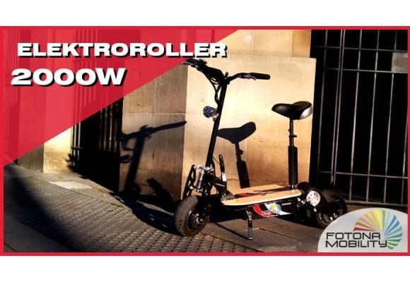 Elektrischer Roller für Senioren 2000W 60V Rückblick und Video