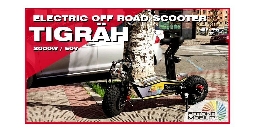 All Terrain Electric Big Wheel Scooter