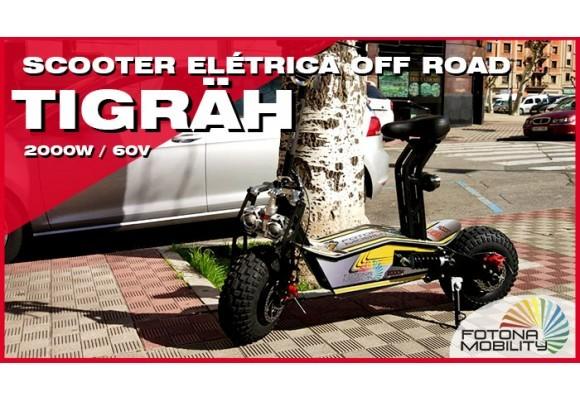 Trotinete Elétrica de Roda Grande Off Road