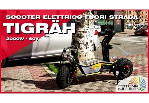 Scooter Elettrico a Ruote Grandi Fuori Strada