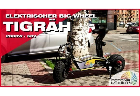 Elektrischer Big Wheel Geländescooter