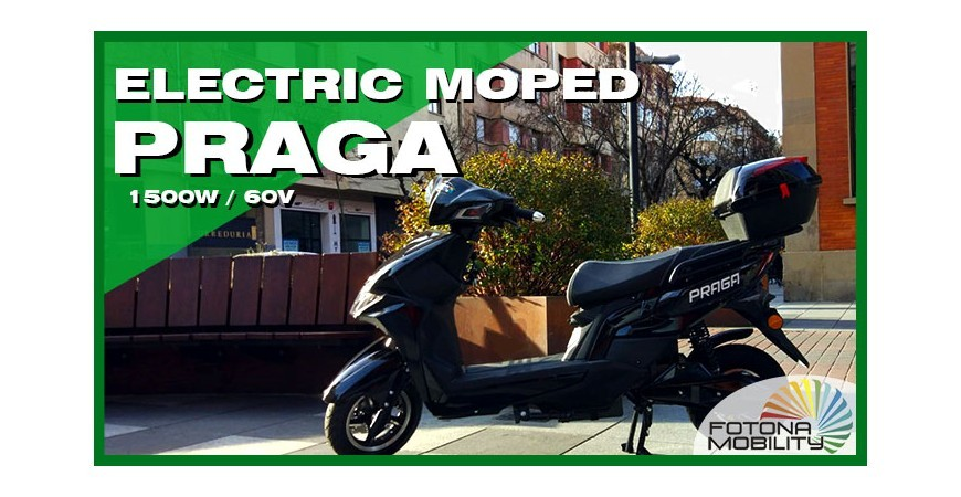 Electric City Moped