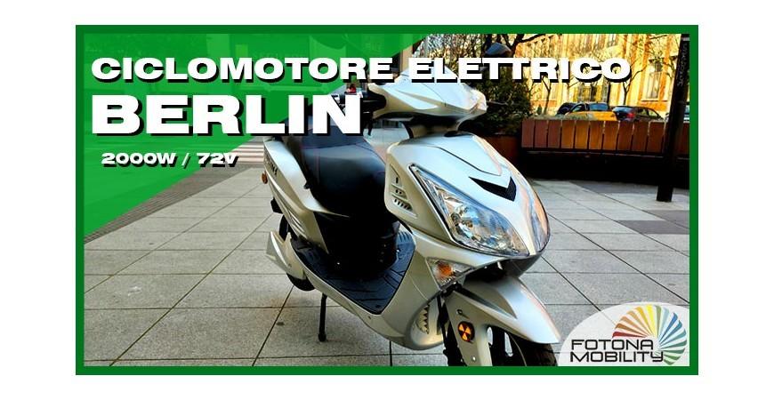 Grande Scooter Elettrico 2000W 72V