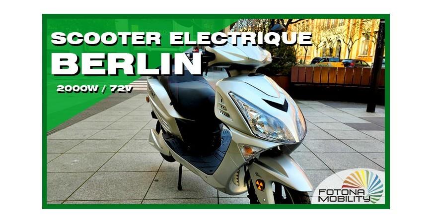 Grand Scooter Électrique 2000W 72V