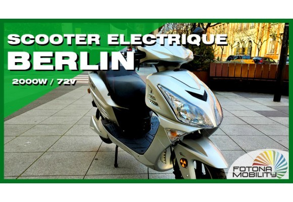 Grand Scooter Électrique 2000W 72V