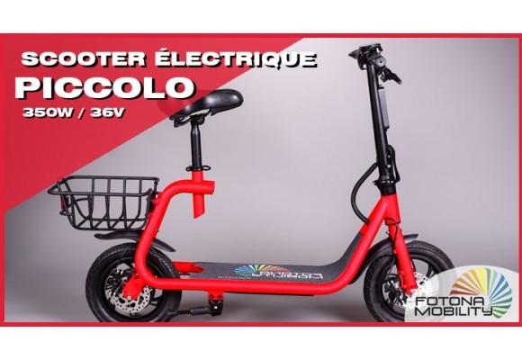 Trottinette Électrique Piccolo 350W pour Seniors