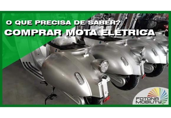 Porquê comprar uma mota elétrica? O que precisa de saber?