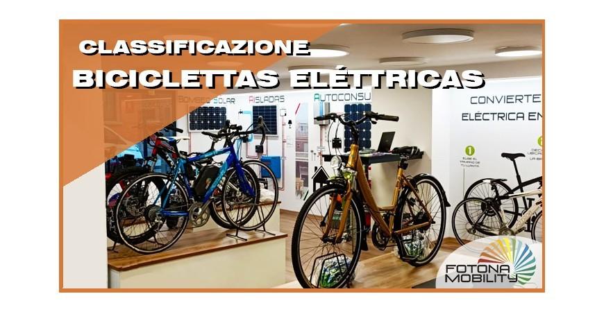 Tipi di Biciclette Elettriche.