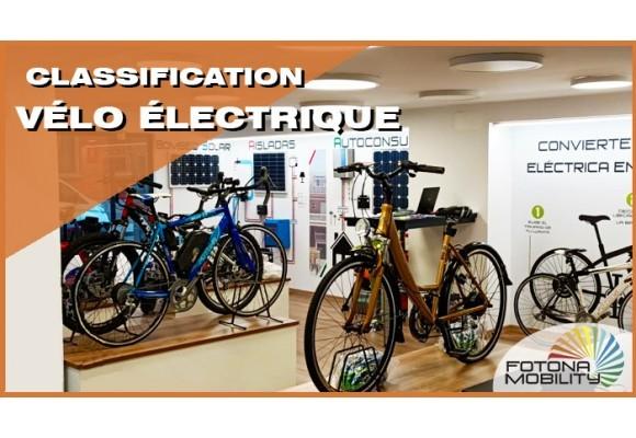 Types de Vélos Électriques.