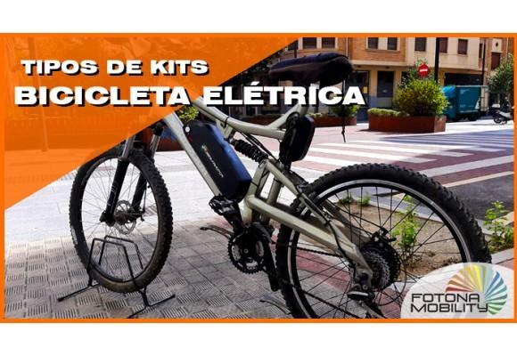 Tipos de Kits de Bicicletas Elétricas