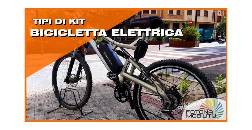 Tipi di Kit per Biciclette Elettriche