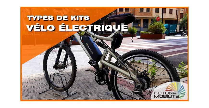 Types de Kits de Vélos Électriques