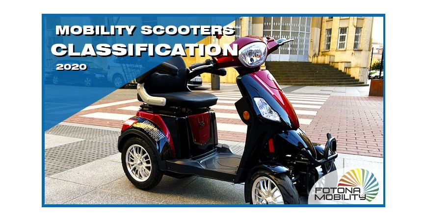 Classification of Electric Vehicles for People with Reduced Mobility