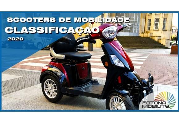 Classificação dos Veículos Eléctricos com Mobilidade Reduzida