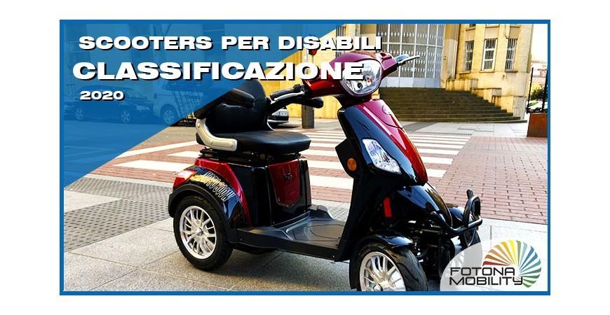 Classificazione dei Veicoli Elettrici per Disabili