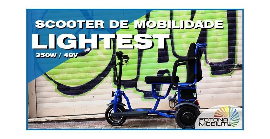 Melhor Scooter Elétrica Dobrável para Escalada de Colinas