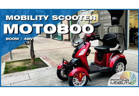 The Most Powerful Electric Mobility Scooter.