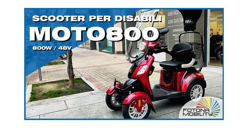 Il Scooter Elettrico per Disabili più Potente.